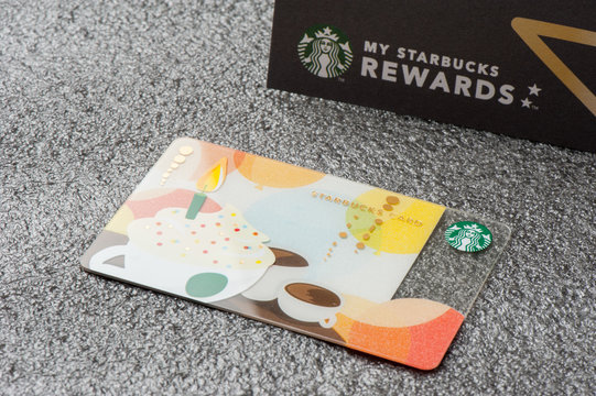 Starbucks reward card