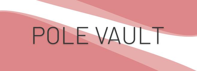 web Sport Label Pole Vault
