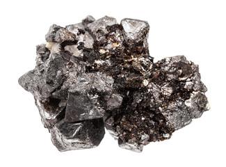 Fototapeta crystalline Magnetite (lodestone, iron ore) stone obraz