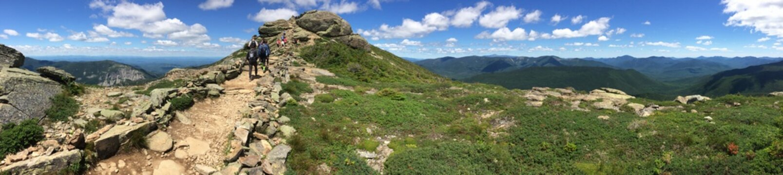 Lafayette loop, Mount Lafayette, Mount Lincoln, White mountains, New Hampshire
