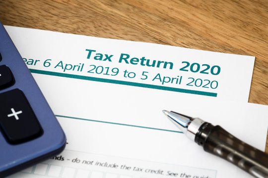 Tax return form UK 2020