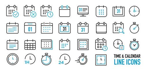 calendar & time