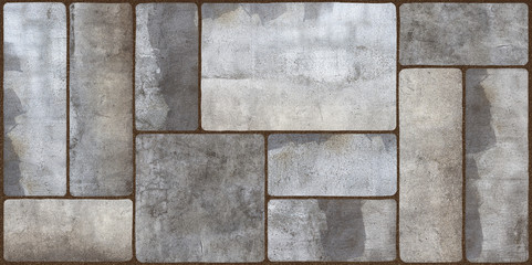 cement stone brick background, cement mosaic tile, cement background