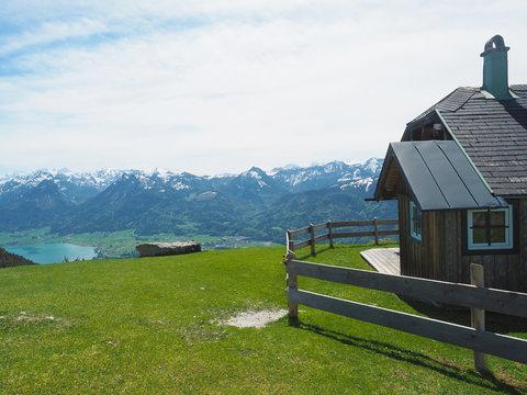 Berghütte im Salzkammergut