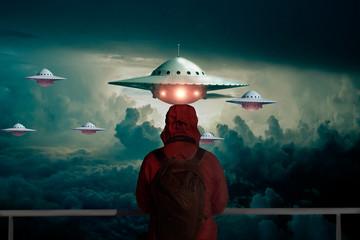 Wall Murals UFO UFO