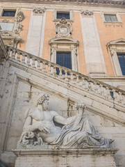 Capitoline Museums is the oldest public museum in the world, launched by Pope Sixtus IV in 1471, Rome, Italy