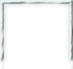 白い石のような、豪華で奇麗なフレーム(フラットな枠)!美しい神秘的な石のフレームです。写真や画像のフレームに最適♪