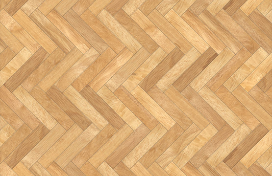 High resolution of a perfect herringbone wooden parquet - Texture and background top view