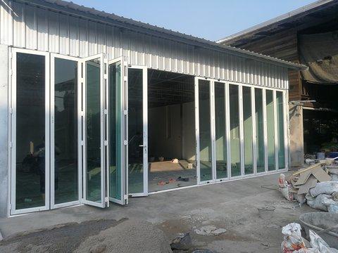 Aluminum glass pattern
