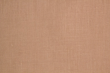 Fabric beige linen. Beige Textile Drapery