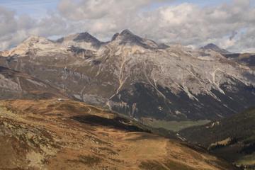 Splügener Kalkberge; Blick vom Piz Tamborello nach Norden