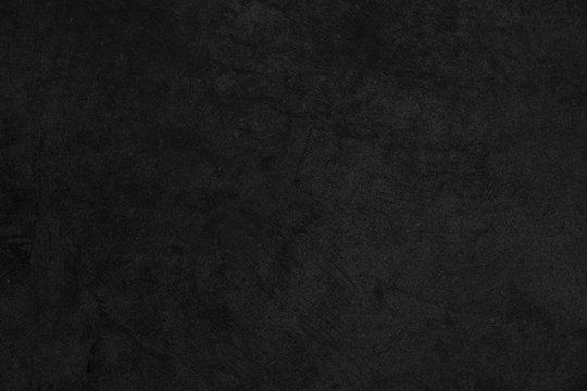 Old black backgound. Grunge texture. Black Industrial wall.