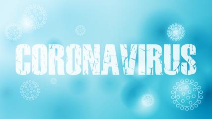 Fototapeta Epidemia koronawirusa. Ilustracja wektorowa. obraz