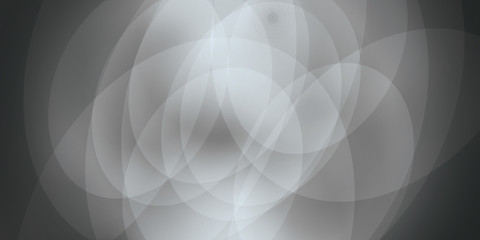Abstract black and white techno swirl background