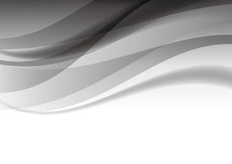抽象 曲線 背景 黒
