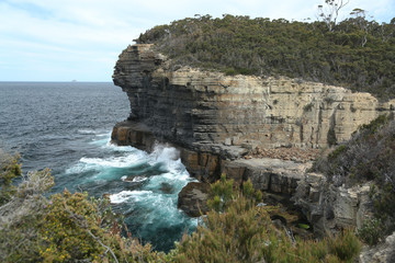 Tasmania, Tasman Peninsula, Devils Kitchen
