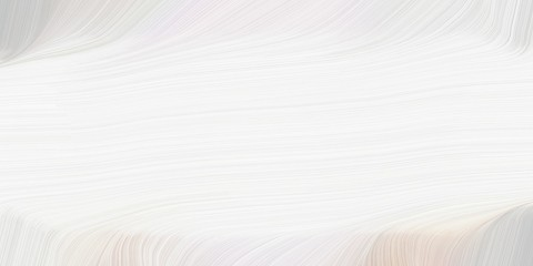 creative fluid artistic graphic with abstract waves design with white smoke, pastel gray and light gray color Fototapete