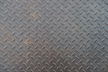 Door stickers Metal Texture of metal, diamond plate steel