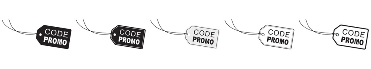 ÉTIQUETTE CODE PROMO Wall mural