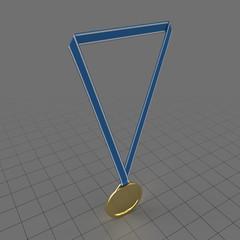 Sport gold medal