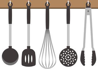 キッチン道具のイメージイラスト