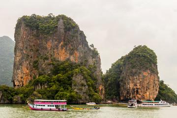James Bond Island Thailand. Phang-Nga Bay Phang Nga Bay.