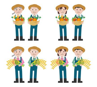 農業 野菜 米 人物