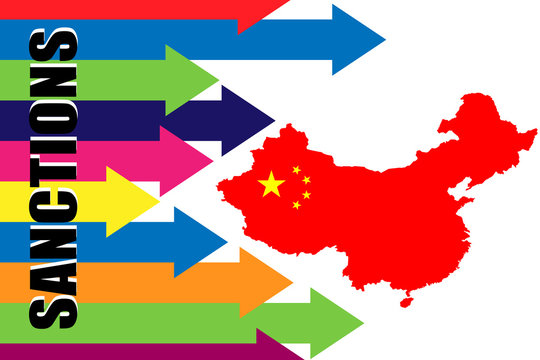 Imposing economic and political sanctions against China