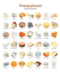 Fromages français / French cheeses