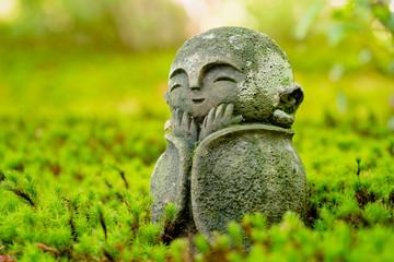 京都 圓光寺 わらべ地蔵さま