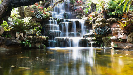 Self adhesive Wall Murals Waterfalls waterfall in japanese garden