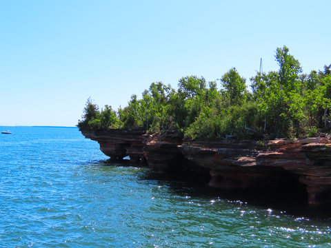 Apostle Islands National Lakeshore in Wisconsin