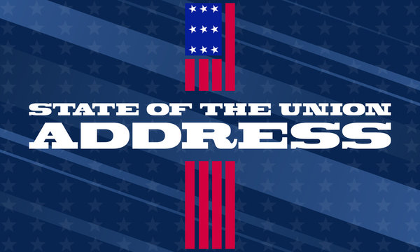 State of the Union in United States. Is an annual message delivered by the President of the US to a joint session of the US Congress at the beginning of each calendar year.