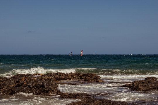 Windsurfing in the Malta Coasts