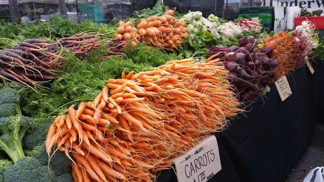 Vegetables For Sale At Westlake Village Farmers Market
