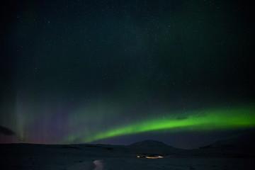 Tuinposter Noorderlicht Polarlicht - Aurora borealis