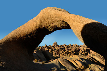 Mobius Arch This geologic rock formation is located in a place called The Alabama Hills in the Eastern Sierra Foothills of California