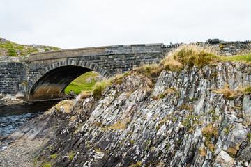 Bridge in Connemara Nationalpark Ireland