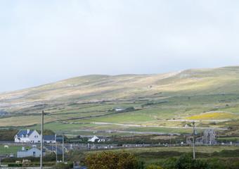 Village in the Burren Ireland