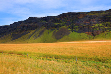 Wall Mural - Alpine landscape in Iceland, Europe
