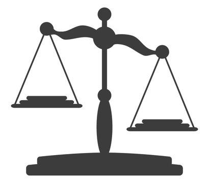 Waage, Symbol der Gerechtigkeit