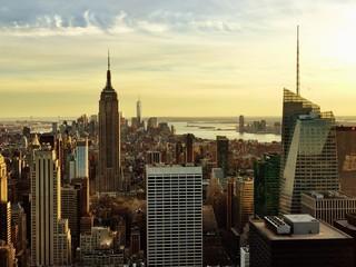 Photo sur Aluminium New York Modern Buildings At Midtown Manhattan