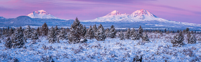 Sunrise Panorama - Bend Oregon