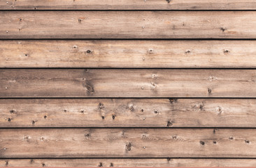 Natural wooden wall made of pine tree boards
