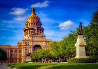 Photo sur Aluminium Texas Texas State Capitol