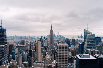 The Empire State Building in Manhattan New York City I