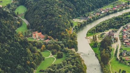 Türaufkleber Khaki Czerwony Klasztor nad Dunajcem