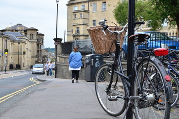 Aluminium Prints Bicycle bike bath spa