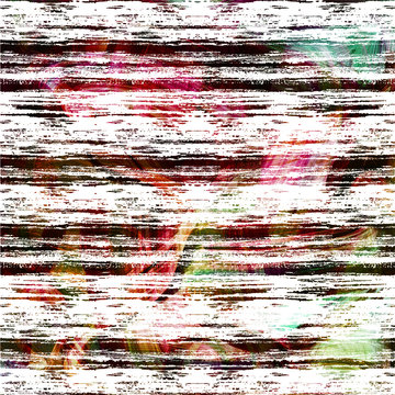 Geometry repeat pattern with texture background