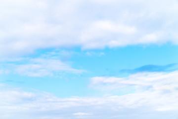 綺麗な淡い青空の写真